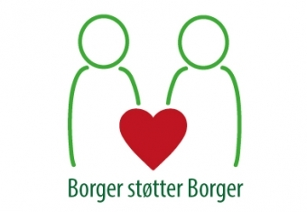 Logo for Borger støtter Borger